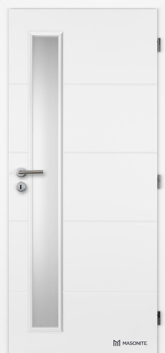 MASONITE - interiérové dveře CLARA QUATRO VERTIKA