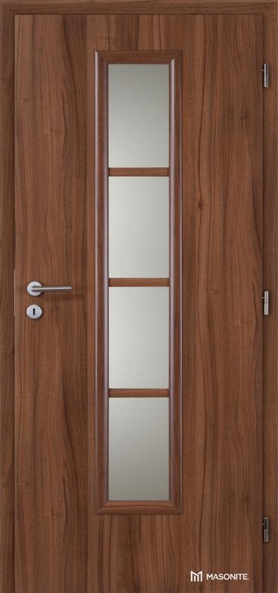 MASONITE - interiérové dveře AXIS sklo