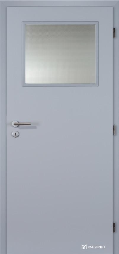 MASONITE - Prosklené 1/3 protipožární EI30