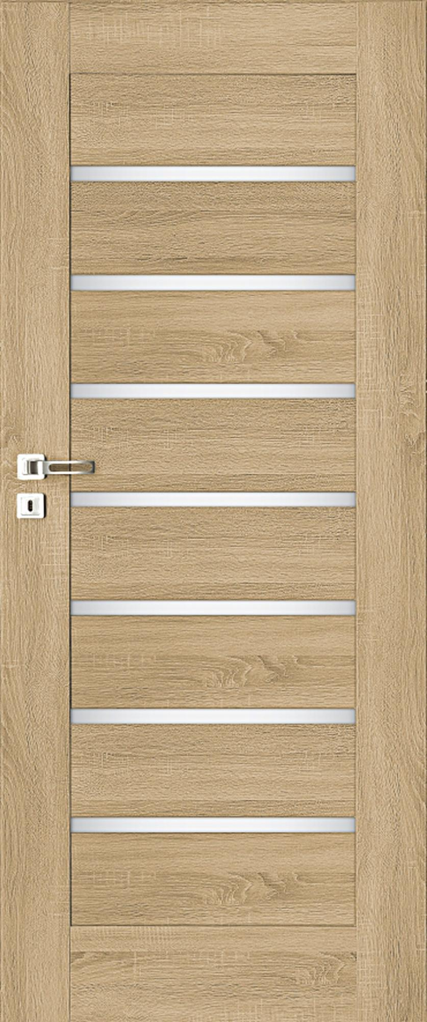 Interiérové dveře MELA 5 - dub natur