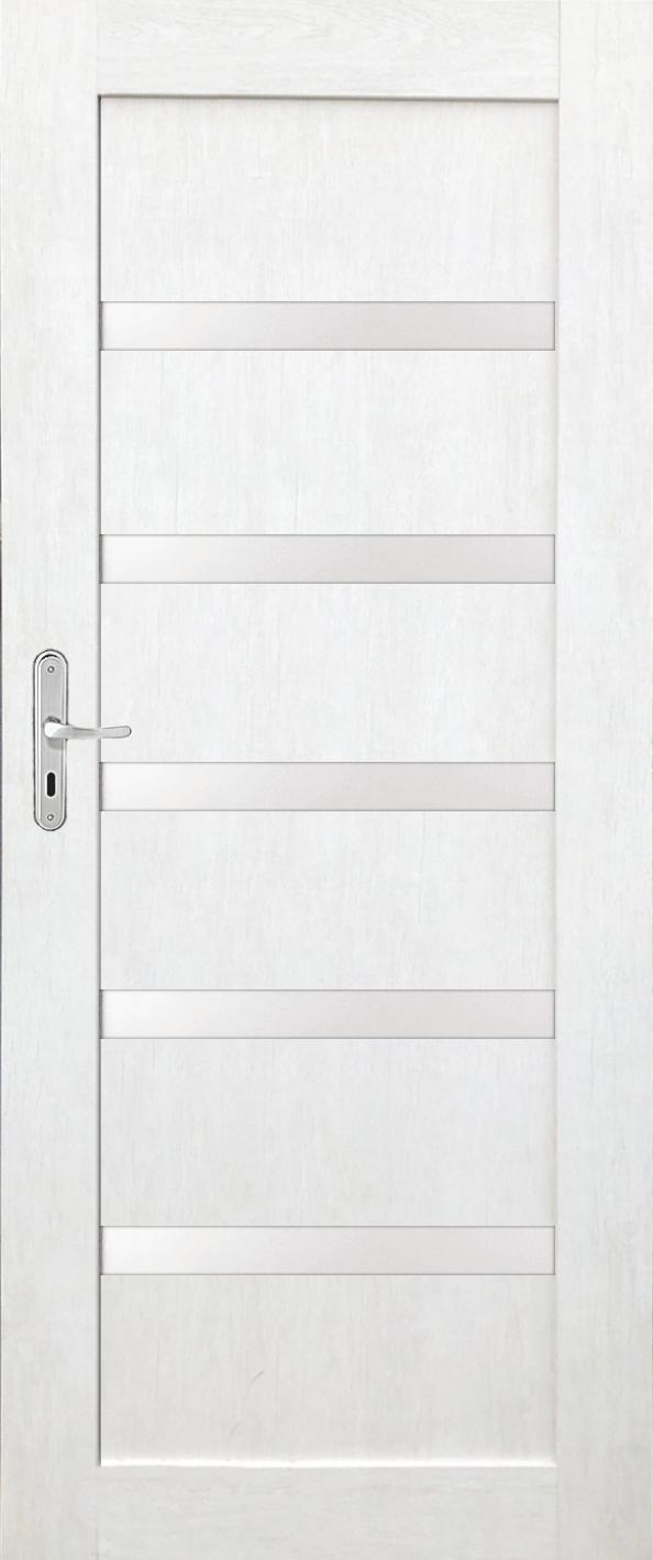 Interiérové dveře FRESNO 1 - dub bělený eco