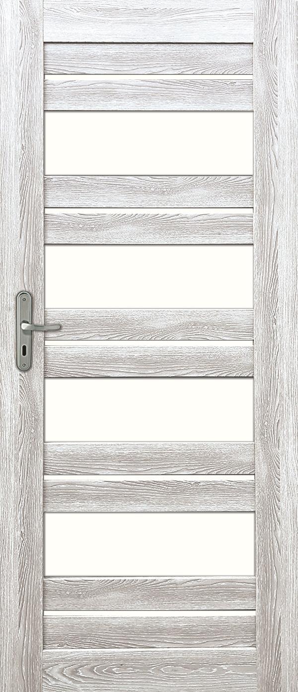 Interiérové dveře EVIA 1 - dub šedý