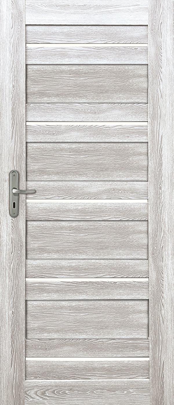 Interiérové dveře EVIA 3 - dub šedý