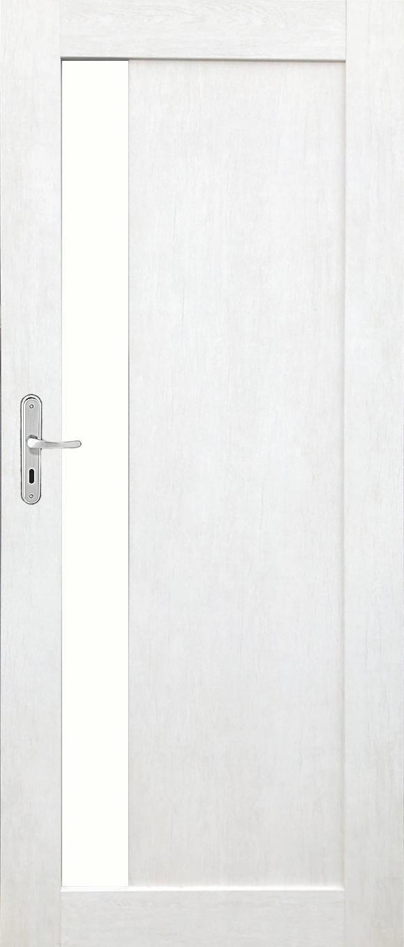 Interiérové dveře MARGO 1 - dub bělený eco