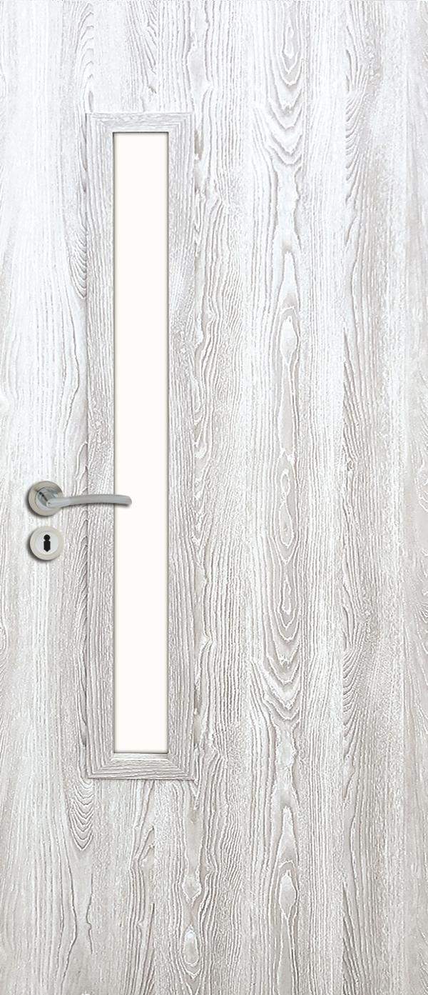 Interiérové dveře PRESTON - dub šedý