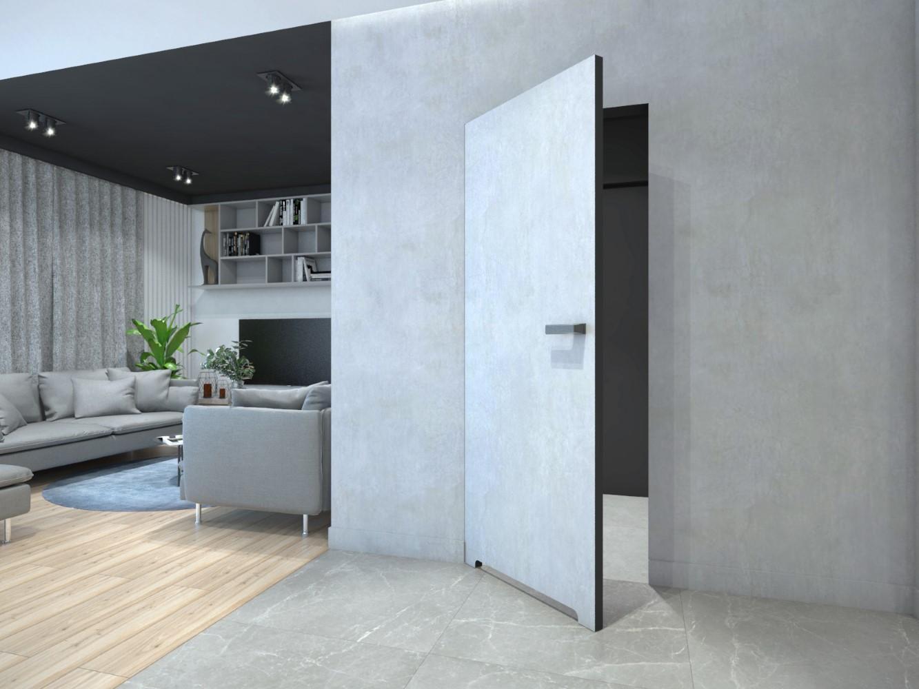 Interiérové dveře DRE se skrytou zárubní SARA ECO 2 výška 220 - bezfalcové