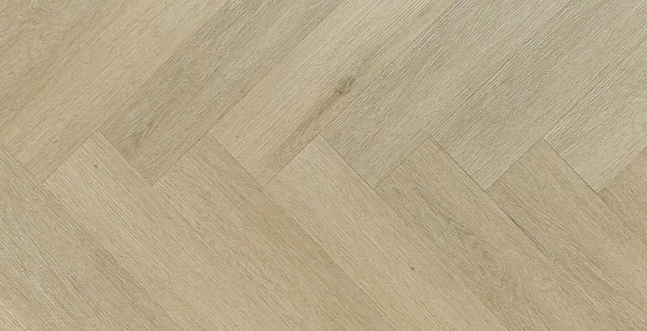 NOMAD FLO - NF10923 Zafra Herringbone - Vinylová podlaha s kompozitním jádrem - Click